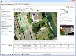 ip video system design tool camera zone coverage calculation cctv floor plan