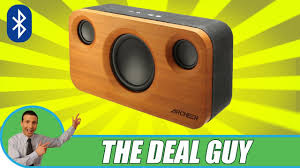 bluetooth speaker black friday deals bamboo bluetooth stereo early black friday deal 2016 youtube