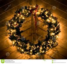 lighted wreaths lights decoration