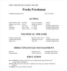 acting resume templates theatre resume template word actor resume template word acting