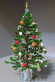 bead and wire christmas tree table decor the beading gem u0027s journal