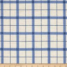 Home Decor Print Fabric by Reel It In Plaid Blue Discount Designer Fabric Fabric Com
