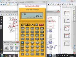 Conduit Fill Table Electrical Calculator L 02 Conduit Fill U 05 9 29 11 Wmv Youtube