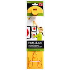 How To Hang A Picture Without Nails Hang U0026 Level Picture Hanging Tool Hd5 100117 The Home Depot