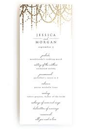 create wedding programs online creative wedding ceremony program diy templates