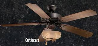 wagon wheel ceiling fan light standard size fans 52 rustic ceiling fan w antler bowl light kit