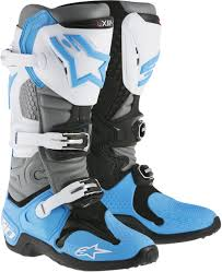 leather dirt bike boots alpinestars tech 10 offroad motocross boots all sizes all colors