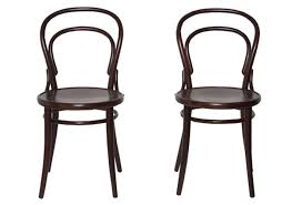 Black Bistro Table And Chairs Pair Of Black Bistro Chairs Omero Home