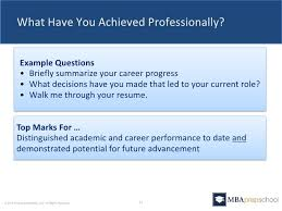 Walk Me Through Your Resume Sample by Five Questions You Must Answer In Your Mba Application