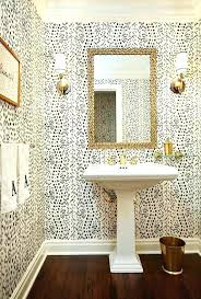 wallpaper bathroom ideas bathroom wallpaper ideas neutralduo