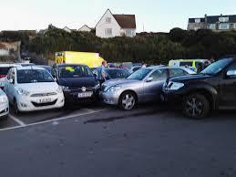 lexus reading uk broad haven pedestrian injured as lexus u0027drives itself u0027 into
