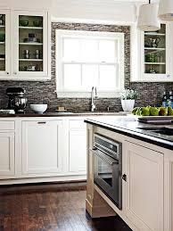 Best Kitchen Backsplash Glass Images On Pinterest Backsplash - Kitchen backsplash white cabinets