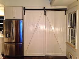 Barn Door Style Kitchen Cabinets Barn Door Ideas In Absorbing As As Barnyard Versailles