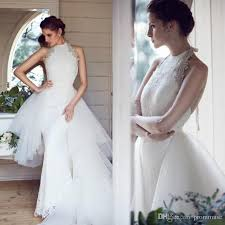 wedding dresses unique skirts wedding dresses unique design 2017 high neck mermaid