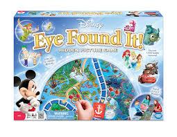 amazon com world of disney eye found it board game toys u0026 games