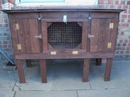 Homemade Rabbit Hutch Recycled Pallet Rabbit Hutch U2022 1001 Pallets