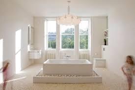 Bathroom Window Trim White Floating Vanity Bathroom Modern With White Window Trim