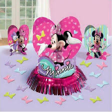 minnie mouse centerpiece party supplies ebay