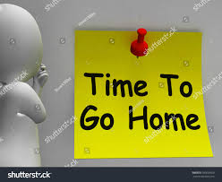 time go home meaning leaving drunk stock illustration 180036929