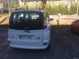 toyota yaris verso toyota yaris verso 1 3 verso luna 5d mpv 2003 used vehicle
