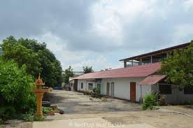house and big land for sale near phnom penh international airport