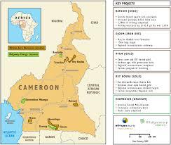 Map Of Cameroon Custom Printable Map Samples Customdigitalmaps Com