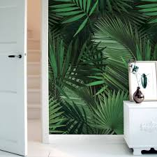kek amsterdam palm botanic wallpaper living and co kek amsterdam tropical palm wallpaper