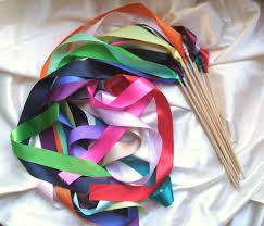 ribbon streamers instead of rice jumbo ribbon streamer sticks pack of 50 you