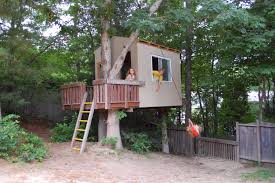 simple tree houses to build for kids interior design