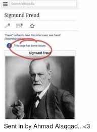 Meme Wikipedia - e search wikipedia sigmund freud freud redirects here for other