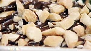 nutty chocolate matzo crunch recipe u0026 video martha stewart