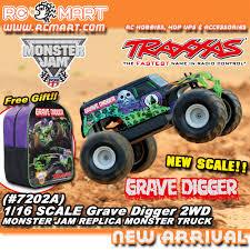 youtube monster trucks jam traxxas grave digger 1 16 scale 2wd monster jam replica monster