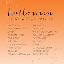 top 20 must watch halloween movies southern maryland senior
