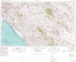 United States Map Longitude Latitude by Topographic Maps Of San Diego County California