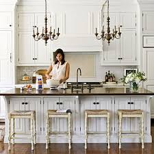 chandeliers in the kitchen house of jade interiors blog