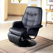swivel reclining chair leather swivel recliner chair with ottoman
