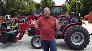 case ih farmall 35a compact tractor youtube