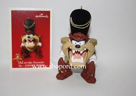 hallmark 2003 taz as the nutcracker ornament looney tunes qxi8269