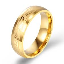 aliexpress buy gents rings new design yellow gold 2016 new design yellow gold color wedding band ring smooth