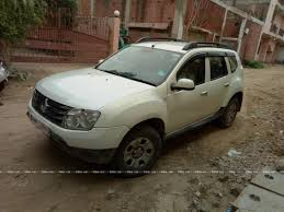 renault duster white used renault duster diesel 85ps 4x2 mt in west delhi 2013 model