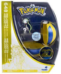 pokemon 20th anniversary small plush victini toys pokemon 20th anniversary clip n carry pokeball meloetta with quick