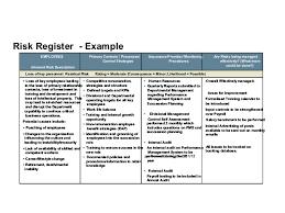 risk description template risk management fundamentals
