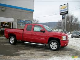 2011 chevrolet silverado 1500 lt extended cab 4x4 in victory red