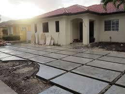 the cuban in my coffee modern concrete driveway update grass or modern concrete driveway update grass or river rock