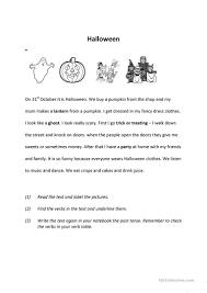 halloween past worksheet free esl printable worksheets made by