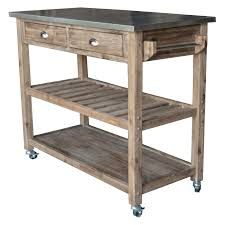 Kitchen Island Metal Kitchen Carts Kitchen Island Plans With Cooktop Cart White With