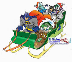 al bigley illustration the dc comics ornament