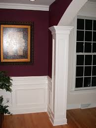 wall wall moulding ideas fluted trim lowes chair rail