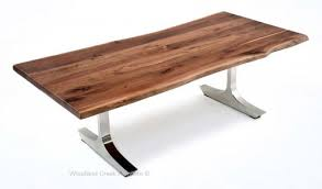 Living Edge Dining Table rustic wood dining tables live edge tables natural slab tables