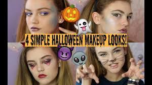 4 quick easy halloween makeup looks beautyspectrum youtube
